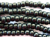 Crow Beads - Black Glass 9mm (CROW09)
