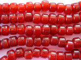 Crow Beads - Transparent Red Glass 9mm (CROW12)