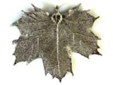 Sugar Maple Leaf Pendant - Platinum (LF199)