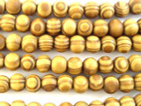 Swirled Round Wood Beads 9mm (WD829)