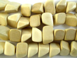 Irregular Natural Nugget Wood Beads 24mm - Philippines (WD836)