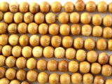 Gant Gaw Round Wood Beads 7mm (WD846)