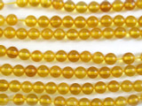 Genuine Amber Round Beads 5mm (AB10)