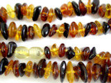 Genuine Amber Nugget Beads 9mm (AB38)