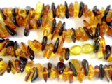 Genuine Amber Petal Beads 12mm (AB40)