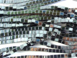 Hematite Cube Gemstone Beads 4mm (GS2725)