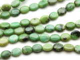 Chrysoprase Oval Tabular Gemstone Beads 10mm (GS2808)