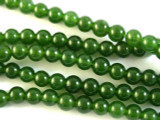 Green Agate Round Gemstone Beads 6mm (GS2836)