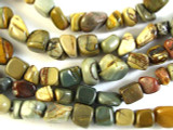 Red Creek Jasper Nugget Gemstone Beads 6-10mm (GS2848)