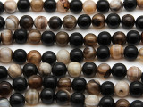 Agate Round Gemstone Beads 8mm (GS2894) BUY ONE, GET ONE FREE