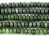Canadian Jade Rondelle Gemstone Beads 8mm (GS2918)