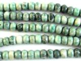 Jade Rondelle Gemstone Beads 7mm (GS2946)