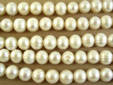 Ivory Potato Pearl Beads 10mm (PRL110)