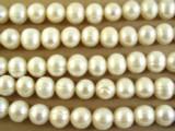 Ivory Potato Pearl Beads 10mm (PRL110)
