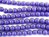 Purple Round Resin Beads 9mm (RES508)