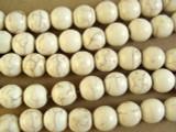 Natural Magnesite Round Beads 10mm (GS2636)