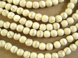 Natural Magnesite Irregular Round Gemstone Beads 5mm (GS2644)