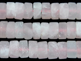 Rose Quartz Disc Gemstone Beads 11mm (GS2682)