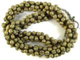 Brass Metal Bell Beads - Togo (ME5651)
