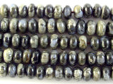 Gray Opal Rondelle Gemstone Beads 7mm (GS2971)