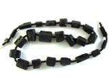 Tourmaline Gemstone Beads - Black (AF1335)