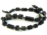 Tourmaline Gemstone Beads - Black (AF1340)