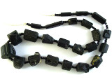 Tourmaline Gemstone Beads - Black (AF1337)