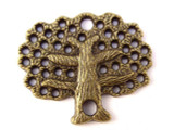 Brass Tree - Pewter Pendant 28mm (PW645)