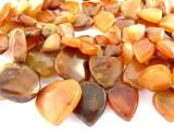 "Carnelian Agate Spade Beads - 36"" strand (OS89)"