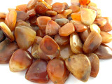 "Old Carnelian Agate Spade Beads - 39"" strand (OS92)"