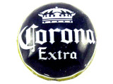 Corona Extra Bottle Cap Bead - Large 21mm (BCB35)