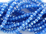 Blue Crystal Glass Beads 4mm (CRY66)