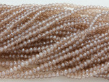 Champagne Crystal Glass Beads 2mm (CRY17)