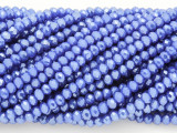 Blue Crystal Glass Beads 4mm (CRY69)