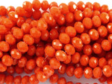Red Crystal Glass Beads 6mm (CRY74)