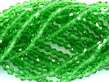 Green Crystal Glass Beads 4mm (CRY35)
