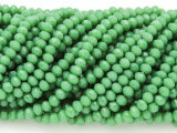 Green Crystal Glass Beads 4mm (CRY45)