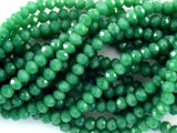 Emerald Green Crystal Glass Beads 4mm (CRY49)