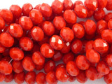 Cherry Red Crystal Glass Beads 10mm (CRY105)