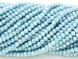 Baby Blue Crystal Glass Beads 4mm (CRY55)