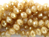 Champagne Crystal Glass Beads 10mm (CRY106)