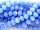 Frosty Blue Crystal Glass Beads 10mm (CRY109)