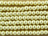 Ivory Glass Pearl Beads 3mm (PG15)