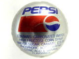 Pepsi Bottle Cap Bead - Large 21mm (BCB107)