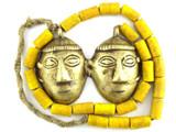 Double Headhunter Pendant Necklace - Nagaland (NP408)