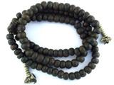 Dark Bodhi Seed Prayer Beads Mala - Nepal 10mm (NP272)