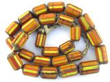 Chevron Beads - Nepal 16mm (NP325)
