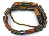 Chevron Beads - Nepal 25mm (NP574)