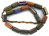 Chevron Beads - Nepal 25mm (NP575)