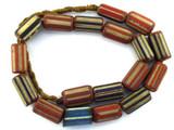 Chevron Beads - Nepal 25mm (NP576)